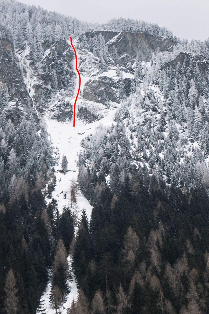 Topographie Taufenbachfall (ohne Vorhang) anzeigen