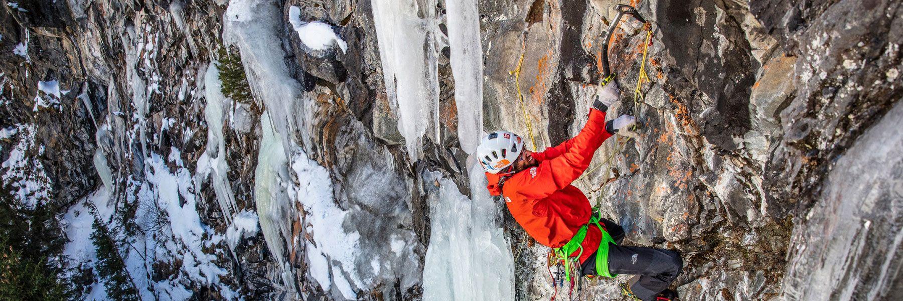 Eisklettern im Ötztal / Tirol
